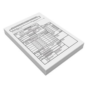 Foaie de parcurs transport marfa VOLUM, A5, 100 file x 3 carnete