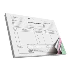 Avize de insotire a marfii VOLUM, A5, 50 file x 3 carnete