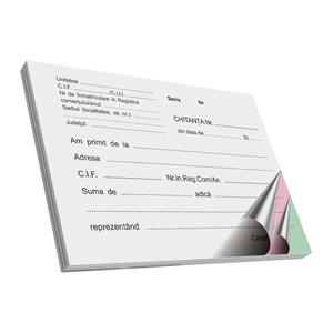 Chitante VOLUM, A6, 50 file x 3 carnete