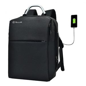 "Rucsac laptop TELLUR TLL611221 cu port USB, 15.6"", negru"