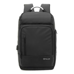 """Rucsac laptop TELLUR Business L, cu port USB, 17.3"""", negru"""