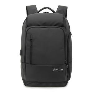 "Rucsac laptop TELLUR Business XL, cu port USB, 17.3"", negru"