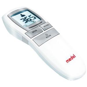 Termometru multifunctional cu infrarosu MEDEL, alb