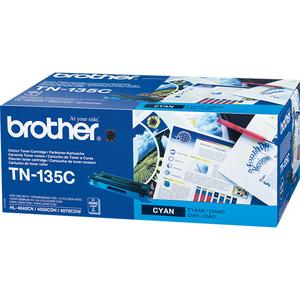 Toner BROTHER TN-135BK, cyan