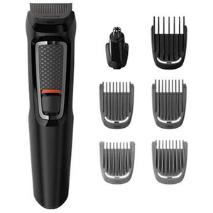 Set de ingrijire faciala PHILIPS  Multigroom series 3000 MG3720/15, 7 in 1, negru