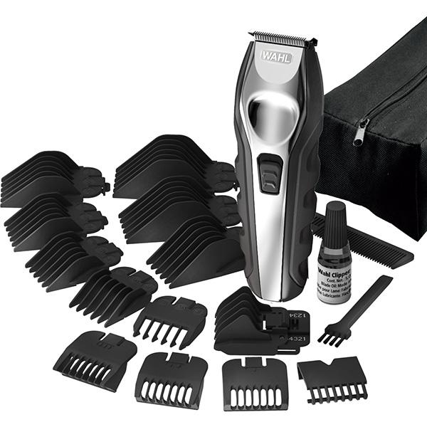 Aparat de tuns barba Grooming Kit WAHL 09888-1316, acumulator. 180 min autonomie, negru