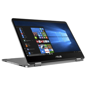 "Laptop 2 in 1 ASUS Transformer Book TP401NA-EC017T, 14"" Full HD Touch, Intel Pentium N4200 pana la 2.5GHz, 4GB, eMMC 64GB, Intel HD Graphics 505, Windows 10 Home"