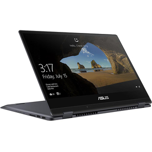 "Laptop 2 in 1 ASUS VivoBook Flip TP412UA-EC047T, 14"" Full HD Touch, Intel Core i5-8250U pana la 3.4GHz, 8GB, SSD 256GB, Intel UHD Graphics 620, Windows 10 Home"