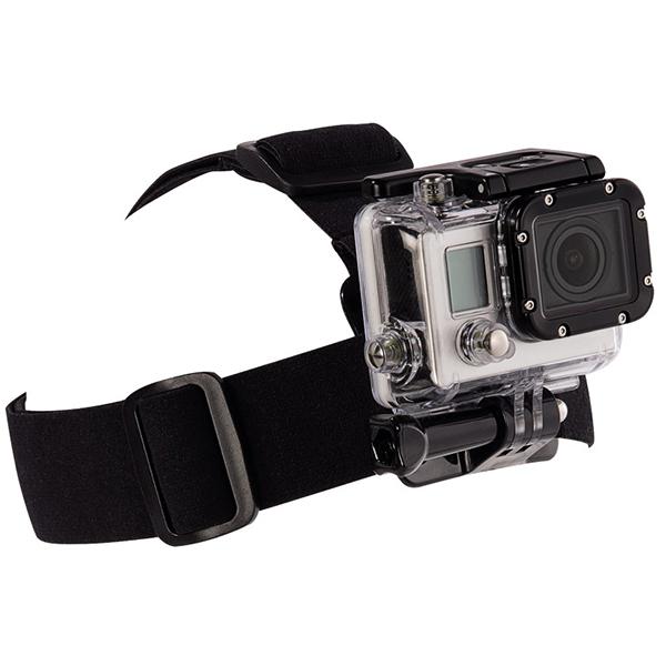 Suport de sustinere pentru cap HAMA 4359 pentru GoPro, negru