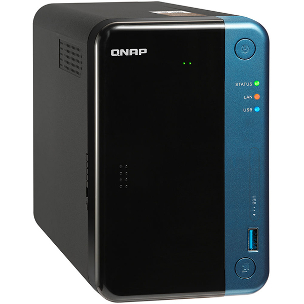 Network Attached Storage QNAP TS-253BE-2G, 1.5GHz, 2GB, 2-Bays, negru