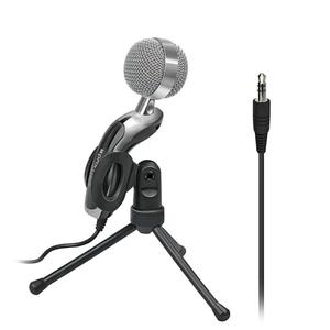 Microfon PC PROMATE Tweeter-7, Jack 3.5mm, negru