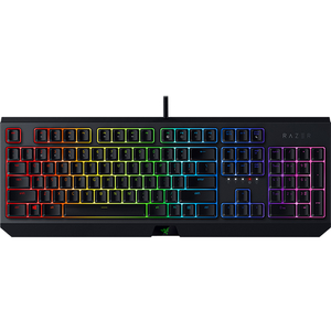Tastatura Gaming mecanica RAZER BlackWidow, Green Switch, USB, Layout US, model 2019, negru