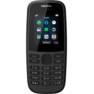 Telefon mobil NOKIA 105 (2019), 4MB RAM, 2G, negru