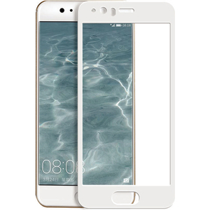 Folie Tempered Glass pentru Huawei P10, SMART PROTECTION, fulldisplay, alb