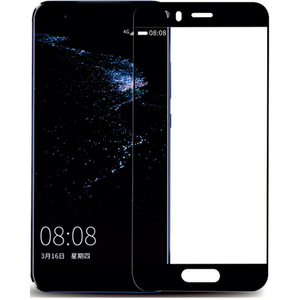 Folie Tempered Glass pentru Huawei P10, SMART PROTECTION, fulldisplay, negru