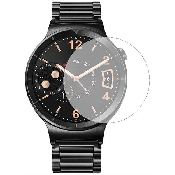 Folie Tempered Glass pentru Smartwatch Huawei W1, SMART PROTECTION, display