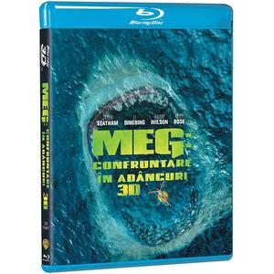 MEG: Confruntare in adancuri Blu-ray 3D