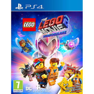 The LEGO Movie 2 Videogame Minifigures Edition PS4