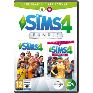 The Sims 4 + The Sims 4 Get Famous Expansion Pack Bundle