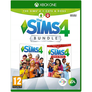 The Sims 4 Plus Cats and Dogs Bundle 4 Xbox One