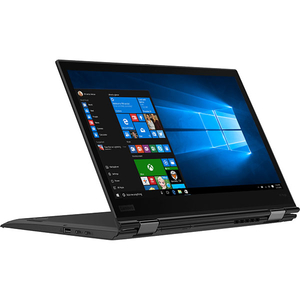 "Laptop 2 in 1 LENOVO ThinkPad X1 Yoga Gen3, Intel Core i7-8550U pana la 4.0GHz, 14"" QHD Touch, 16GB, SSD 512GB, Intel UHD Graphics 620, Windows 10 Pro, Negru"