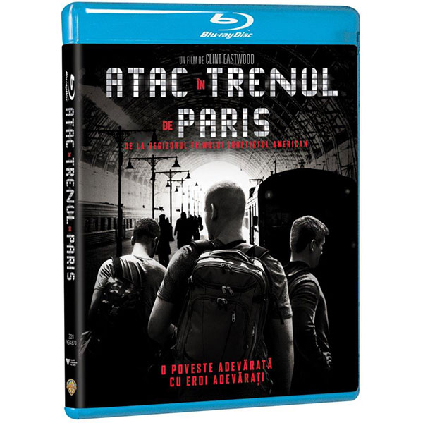 Atac in trenul de Paris Blu-ray