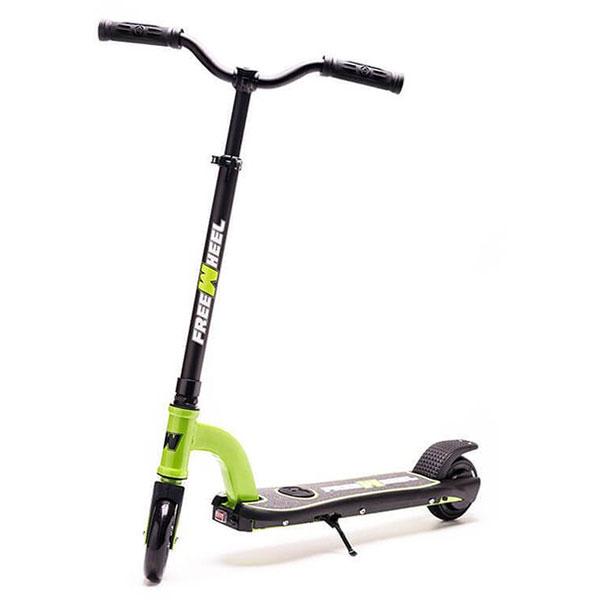 Trotineta electrica FREEWHEEL Rider Kids, 5.5 inch, verde