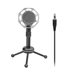 Microfon PC PROMATE Tweeter-8, Jack 3.5mm, negru