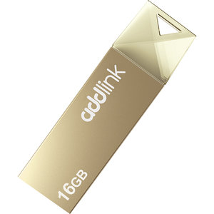 Memorie portabila ADDLINK U10, 16GB, USB 2.0, Champagne