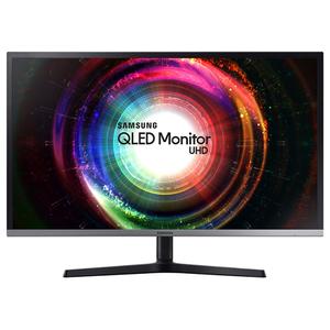 "Monitor LED VA SAMSUNG U32H850, 31.5"", UHD, FreeSync, negru-gri"