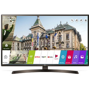 Televizor LED Smart Ultra HD 4K, HDR, 108 cm, LG 43UK6400PLF