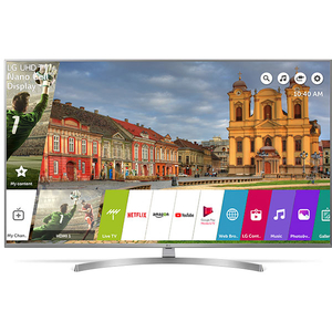 Televizor LED Smart Ultra HD 4K, HDR, 123 cm, LG 49UK7550MLA