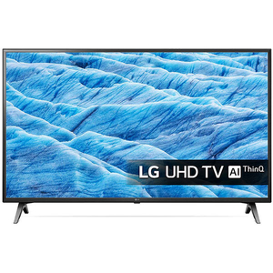 Televizor LED Smart Ultra HD 4K, HDR, 108 cm, LG 43UM7100PLB