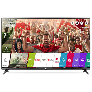 Televizor LED Smart Ultra HD, WebOS AI, 164cm, LG 65UK6100PLB