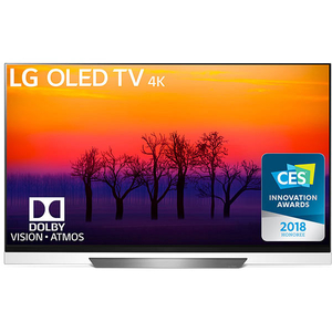 Televizor OLED Smart Ultra HD 4K, HDR, 139 cm, LG OLED55E8PLA