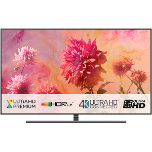 Televizor QLED Smart Ultra HD,Tizen, 4K  HDR, 138 cm, SAMSUNG QE55Q9FN, Midnight Black