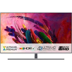 Televizor QLED Smart Ultra HD,Tizen, 4K  HDR, 163 cm, SAMSUNG QE65Q7FN, Eclipse Silver