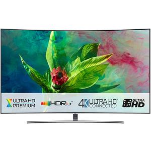 Televizor Curbat QLED Smart Ultra HD 4K, HDR, 163 cm, SAMSUNG QE65Q8CN