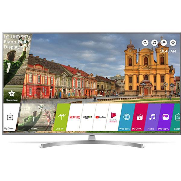 Televizor LED Smart Ultra HD 4K, HDR, 123 cm, LG 49UK7550MLA