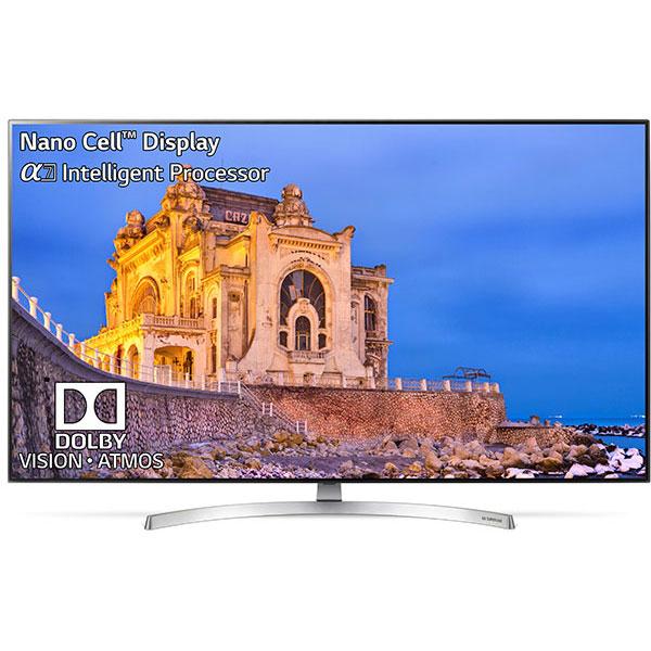 Televizor LED Smart Super UHD 4K, HDR, 139 cm, LG 55SK8500PLA