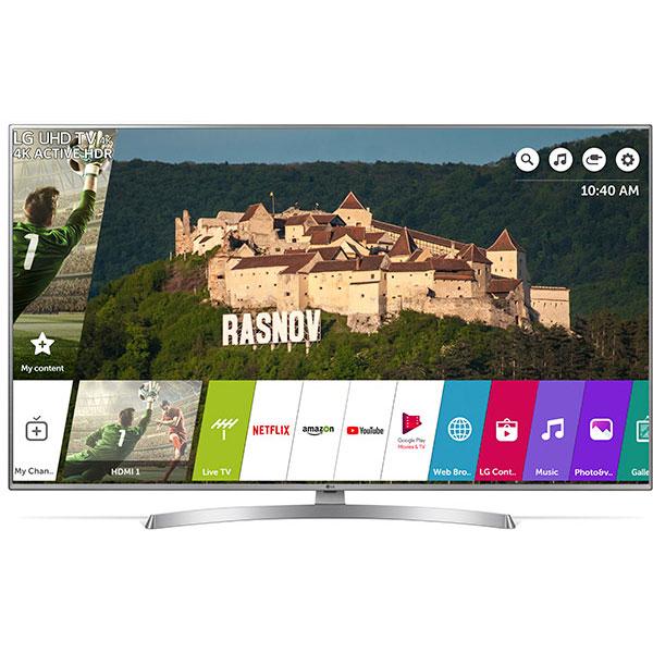 Televizor LED Smart Ultra HD 4K, HDR, 139 cm, LG 55UK6950PLB