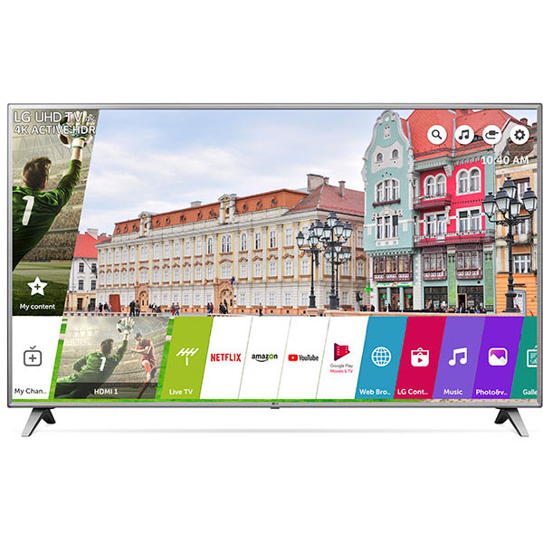 Televizor LED Smart Ultra HD 4K, HDR, 217 cm, LG 86UK6500PLA