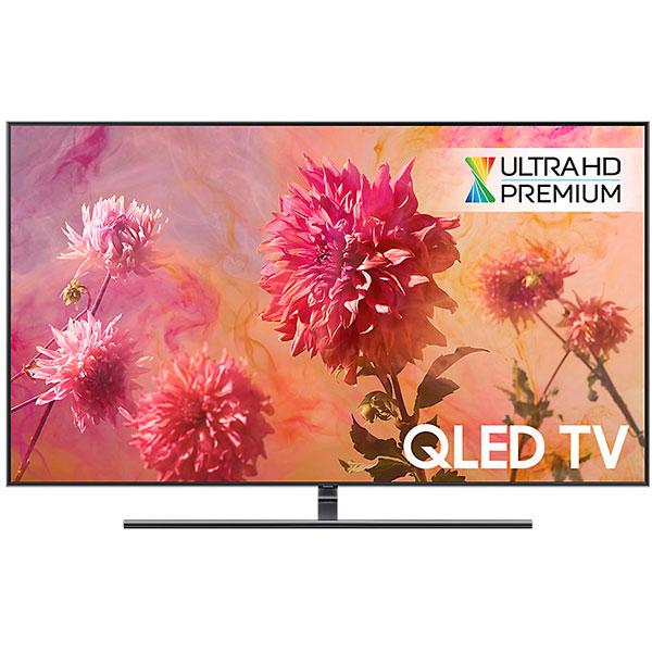 Televizor QLED Smart Ultra HD,Tizen, 4K  HDR, 189 cm, SAMSUNG QE75Q9FN, Midnight Black