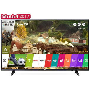 Televizor LED Smart Ultra HD, webOS 3.5, 139cm, LG 55UJ620V