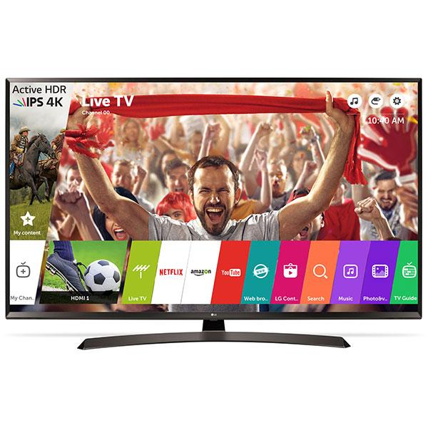Televizor LED Smart Ultra HD 4K, HDR, 151 cm, LG 60UJ634V