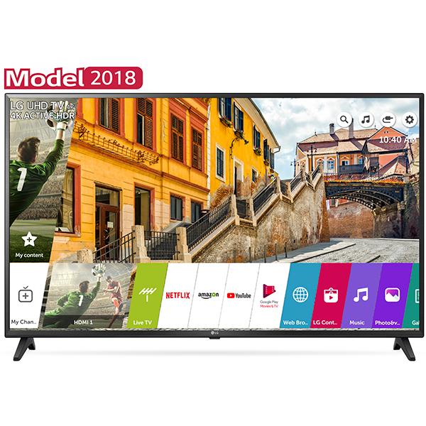 Televizor LED Smart LG 60UK6200PLA, Ultra HD, webOS AI, 4K Active HDR, 152cm