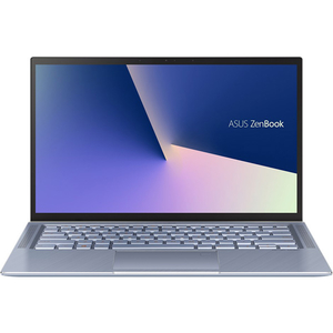 "Laptop ASUS ZenBook 14 UX431FA-AM101, Intel Core i7-8565U pana la 4.6GHz, 14"" Full HD, 8GB, SSD 512GB, Intel UHD 620 Graphics, Endless, Utopia Blue"