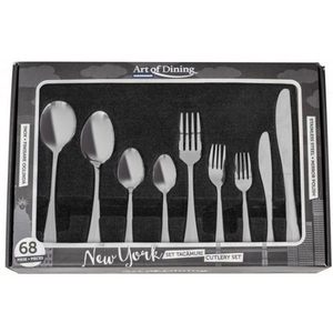 Set tacamuri HEINNER HR-HP- NY68 New York, 68 de piese, inox