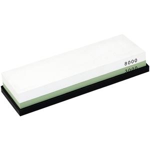 Piatra ascutire cutite ZOKURA Z1034, ceramica, alb-verde
