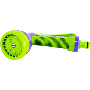 Pistol pentru stropit + adaptor furtun PALISAD UT0187, verde